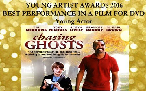 2016 Young Artist Award Nominee