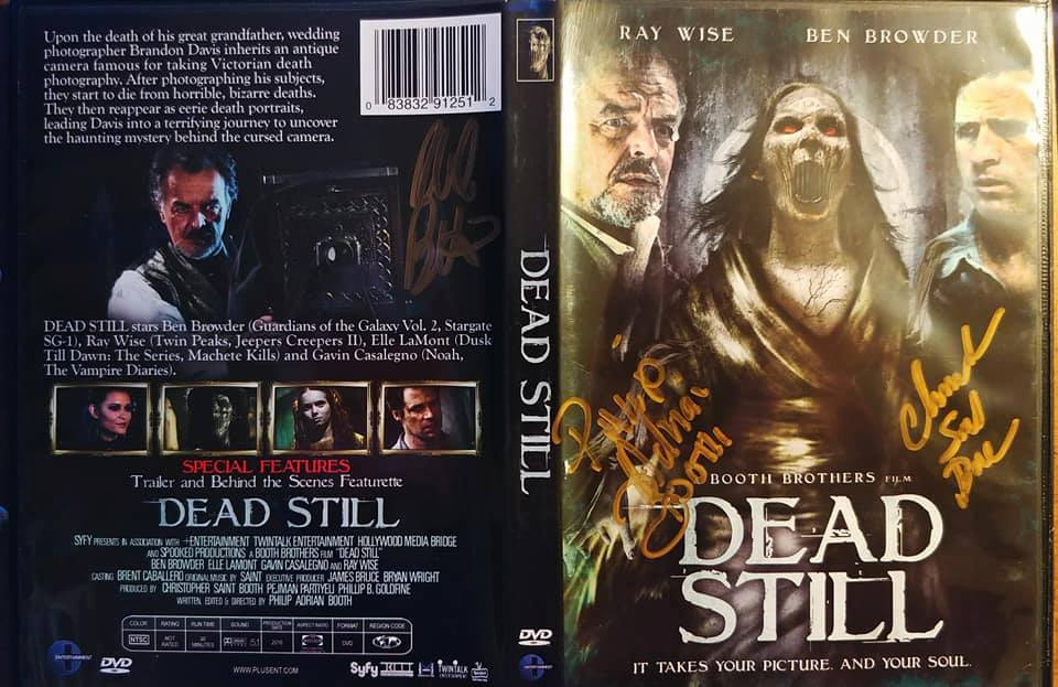 DEAD STILL on DVD